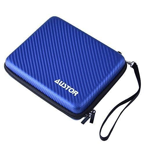 Austor Travel Carrying Case Protective Cover for Nintendo 2DS Blue