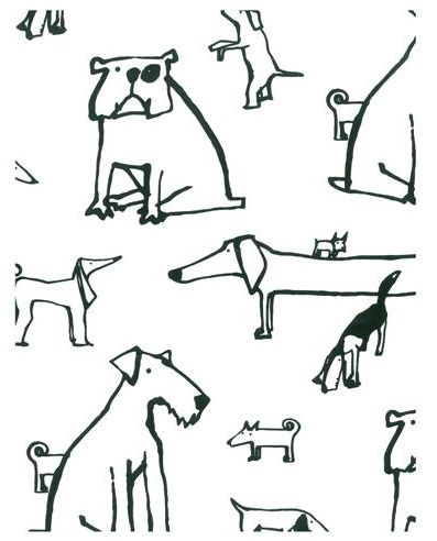 Must Love Dogs: Wallpaper Inspired by Our Best Friends