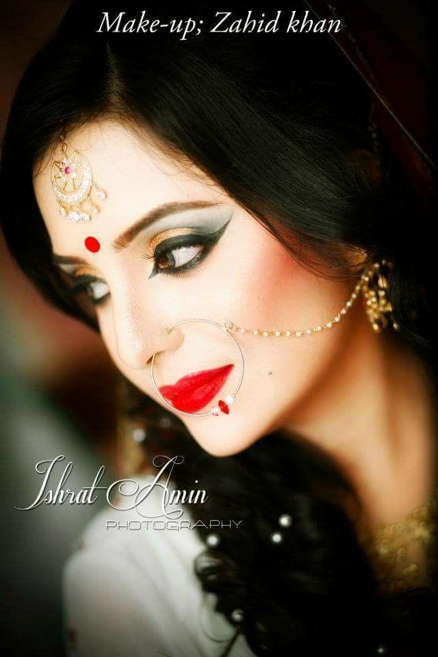 Bangladeshi bride#reception look#zahid khan makeover