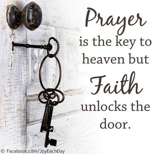 Faith quote via www.Facebook.com/JoyEachDay
