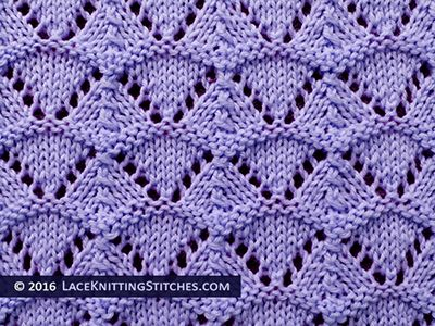 Knitting Stitches Shell Pattern : 176 best images about Lace Knitting Stitches on Pinterest Lace knitting pat...