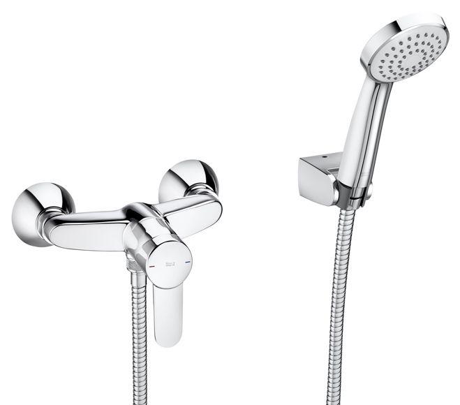 Grifería ducha baños secundarios Roca Mitos