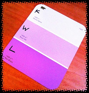 KWL Chart with Free Paint Swatches
