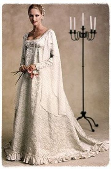 Mccalls m2645 sewing pattern 8 12 medieval renaissance for Renaissance inspired wedding dress
