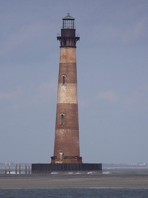 Morris Island Lighthouse, Folly Beach, South Carolina