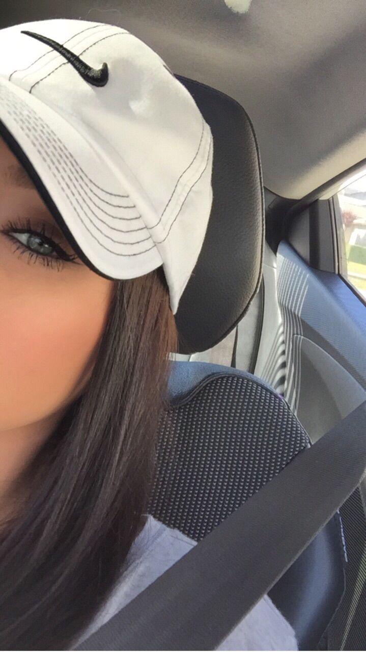 Hat & eyes.