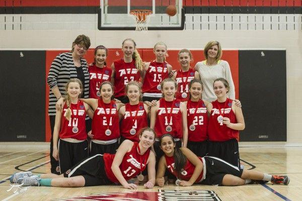 #HamOnt Transway bantam girls double up for basketball gold.