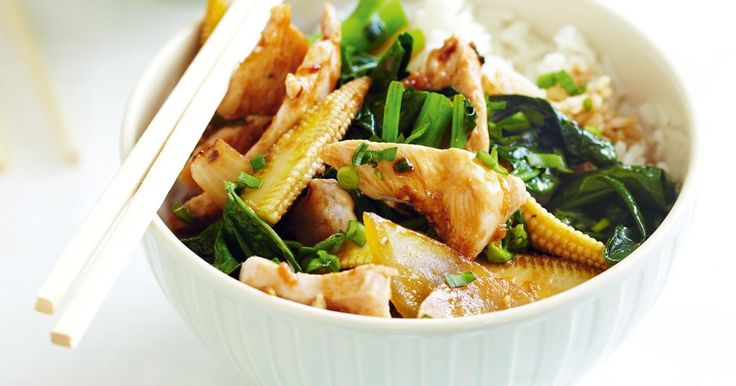 For this stir fry, you could replace chicken with 500g sliced turkey breast steaks or sliced pork leg steaks.