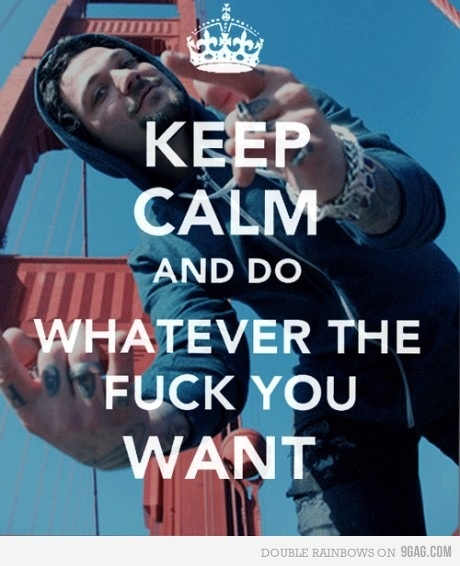 keep calm and be bam margera