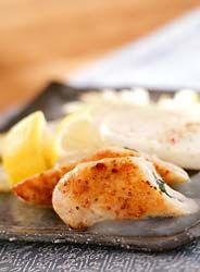 ささみのレモンソースのレシピ・作り方 - 簡単プロの料理レシピ | E・レシピ
