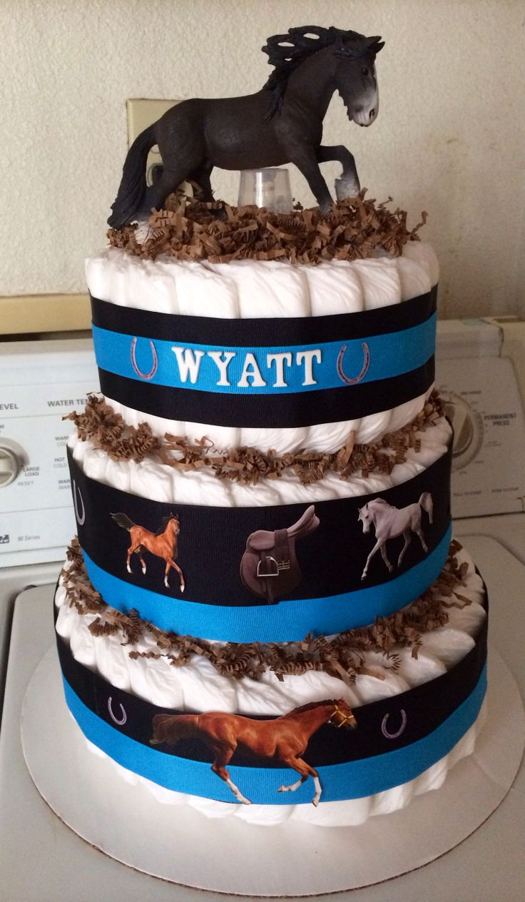 23 best baby gifts images on pinterest baby gifts baby shower horse theme diaper cake negle Images