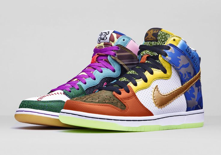 "Nike Dunk High SB ""What The Doernbecher"" Will be an eBay Exclusive Release Starting June 11th"