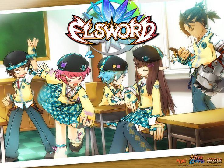 KamiNoBeniMizu Online Games Elsword Elsword Wallpapers