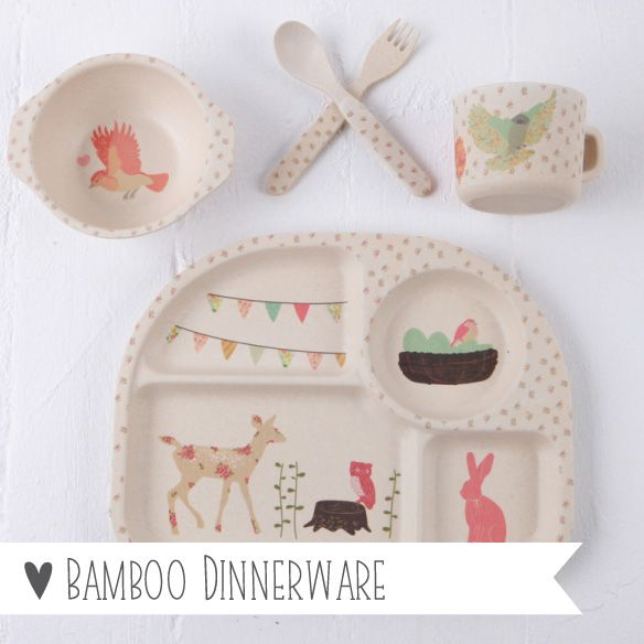 Bamboo Dinnerware - SHOP