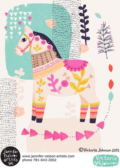 print & pattern: NEW WORK - victoria johnson