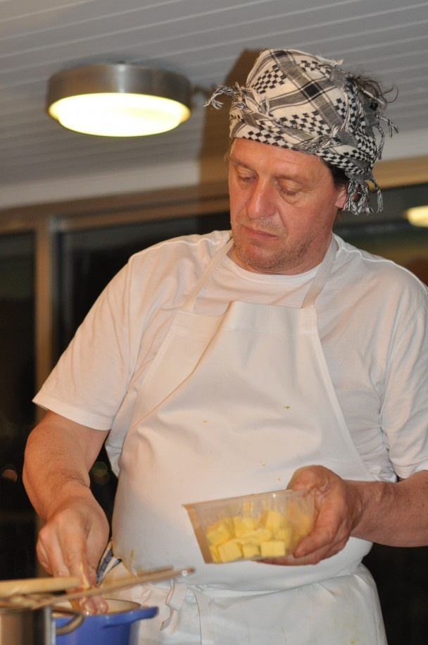 Asparagus Risotto recipe from Chef Marco Pierre White