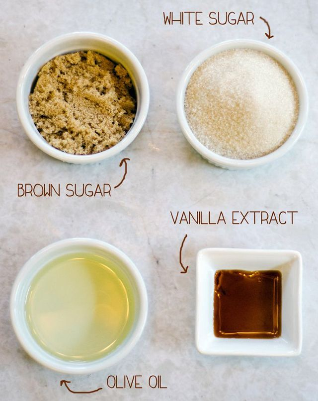 diy vanilla foot scrub