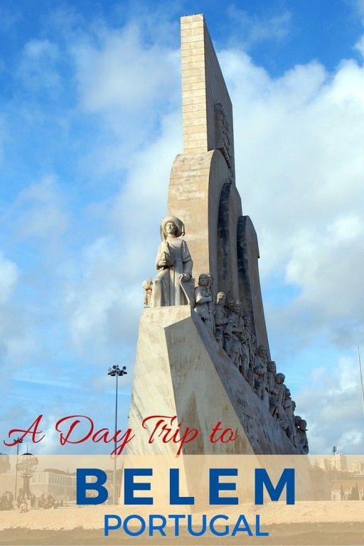 Guide and tips to a day trip to Belem (a district of Lisbon) Portugal with kids | One day itinerary guide