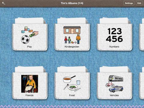 "Talking Cards  - $28.99 ""The perfect app for the beginning Augmentative Communication user!"" Speech Language Neighbourhood, March 2012"