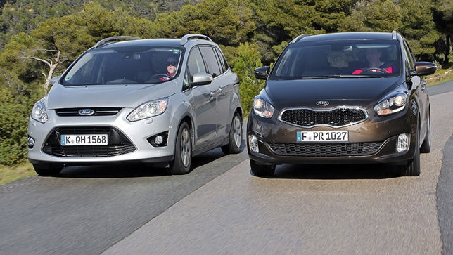 Ford Grand C-Max vs. Kia Carens