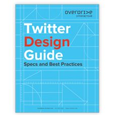 Download this guide from Overdrive Interactive to learn about the six major elements of Twitter design.