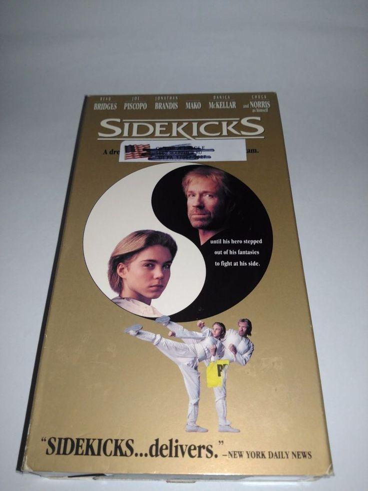Sidekicks (VHS, 1993) Chuck Norris, Joe Piscopo Film VCR Tape Movie