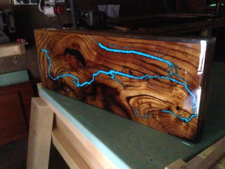 Pine Slab Table