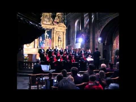 O Memoriale Mortis Domini de Palestrina par le choeur Cathédrale Collège...