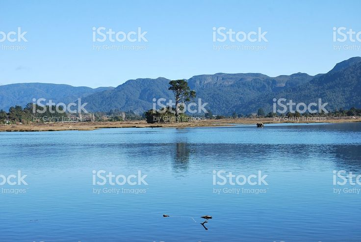 Ruataniwha Inlet, Collingwood, Golden Bay, New Zealand royalty-free stock photo