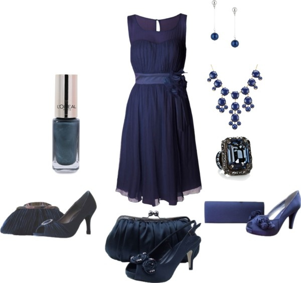 """""""Navy Wedding Theme"""" by sole-divas on Polyvore"""