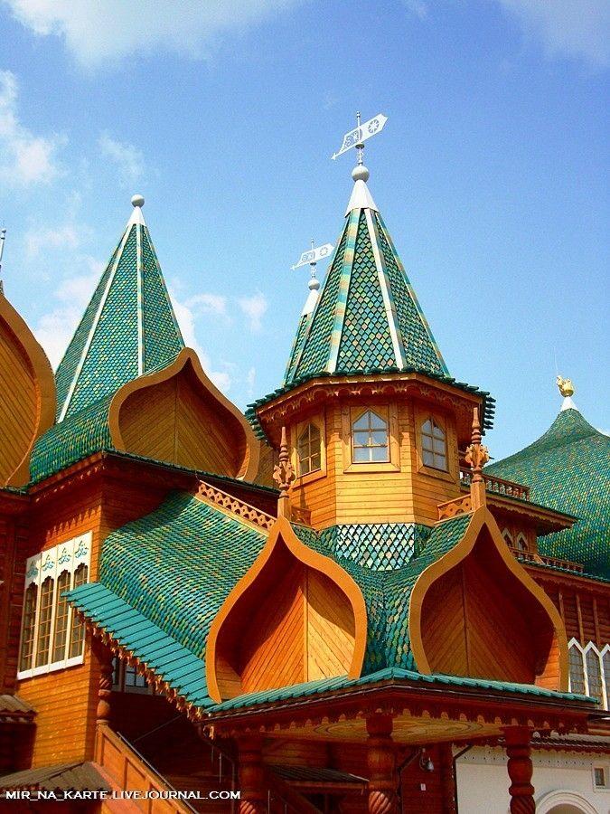 Russia Northern Eurasia Map Quiz%0A kolomenskoye  aleksei mikhailovich u    s wooden palace  recreation   russia