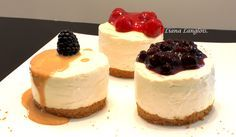 Light, Fluffy & Easy No Bake Cheesecake: http://gracessweetlife.com/2010/04/light-fluffy-easy-no-bake-cheesecake/