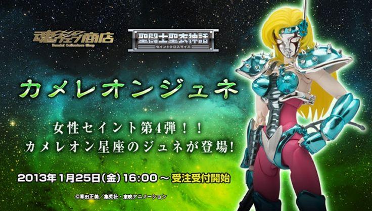 Cosmic group  Saint Cloth Myth Chameleon June