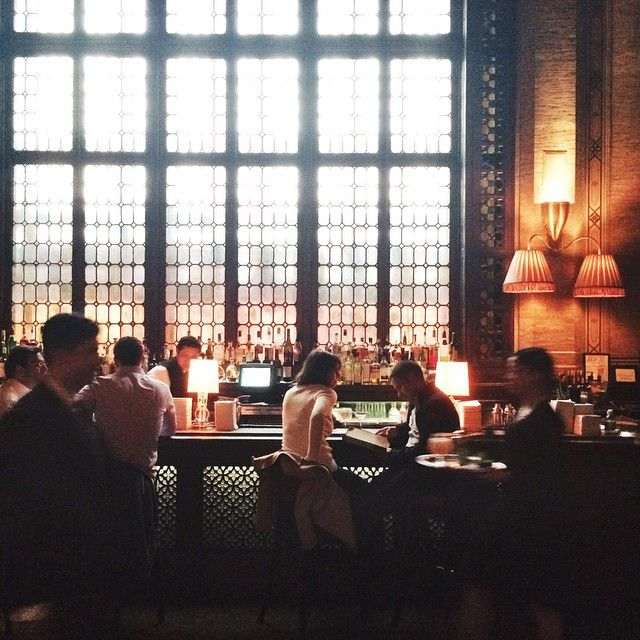 Hidden behind Manhattan's @grandcentralnyc is The Campbell Apartment, a sophisticated bar serving classic cocktails to a neighborhood crowd, savvy travelers, and those in know.