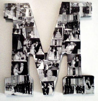 Geniale Schlafzimmer Ideen, die auch in den Studentenheimen erlaubt sind - Buchstabe Fotokollage