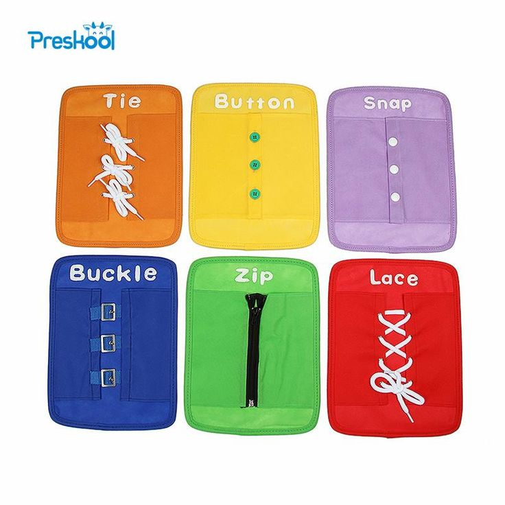 Baby Toy Montessori Dressing Frames Set of 6 Zip Snap Button Buckle Lace Tie Early Education Preschool Toys Brinquedos Juguetes