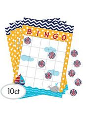 Ahoy Nautical Bingo Game - 10ct - $7 (Game for kids who attend)