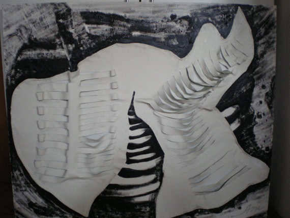 White & Black by AzzaGallery on Etsy, €950.00