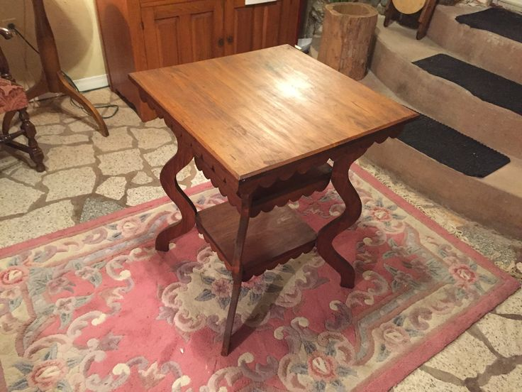 Eastlake style table, check out the auction at www.pickerstradingplace.com