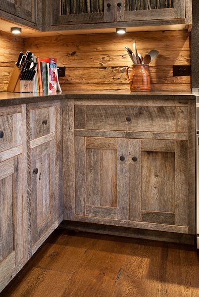 Marvelous Kitchen In Tanawha , Nc, Made From Reclaimed Barn Wood. Keystone Kitchen +  Bath