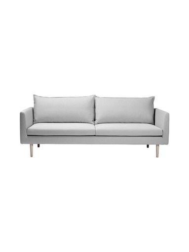 Wilhelm-sohva on muodoiltaan kevyt ja tyyliltään ajaton. Sohvan on suunnitellut Tuula Falk. Jalkojen materiaali on saarnia ja sohvassa on irrotettava Sapphire-k...