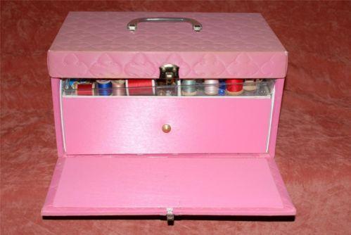 large vintage sewing box 2