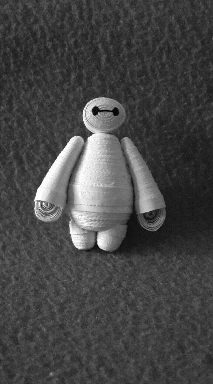 Baymax quilling character