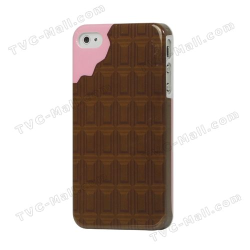 Delicious Chocolate Hard Plastic Case Cover for iPhone 4 4S
