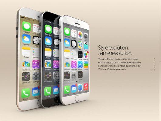 iPhone L rappresentato in un nuovo concept