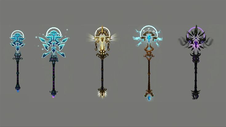 MMO-Champion - Holy Priest Artifact Weapon for Legion