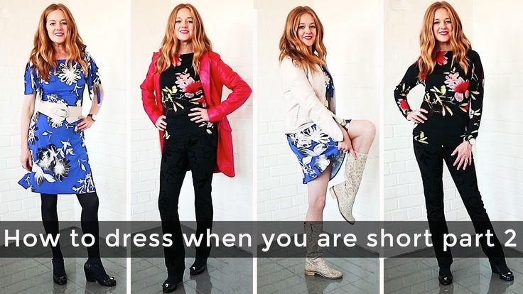 How to dress when you are short for women over 40 part 2 - daywear