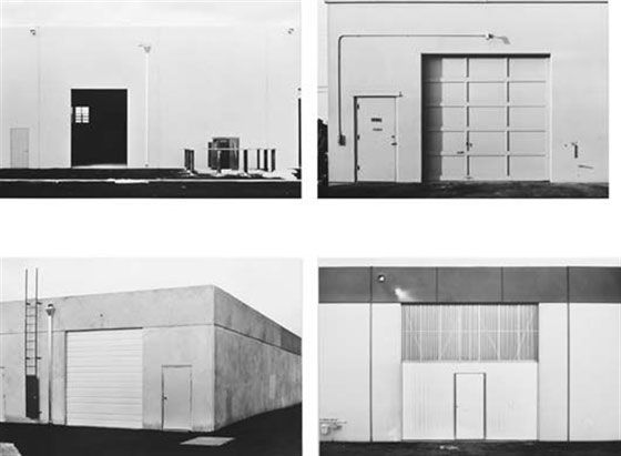 Lewis Baltz Selected images from The New Industrial Parks, 1974