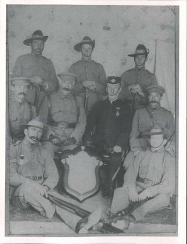 Mounted Rifles 1906