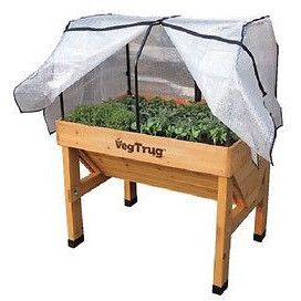 VEGTRUG Small Greenhouse Frame and PE Cover